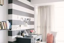 Creative Walls / DIY ideas and inspiration to give your walls some style!