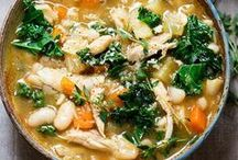 Soup / Soups to warm the tummy! From chunky potato soup to classic chicken noodle.