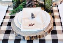 Tablescape and Centerpiece Ideas for Your Home / Creative and elegant tablescape decor.