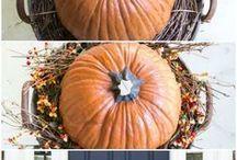 Fall and Harvest Time / Fall decor, recipes, and seasonal ideas