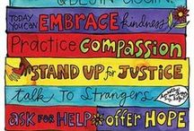 Compassion + Dignity + Justice