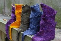 knit shawl/scarf / shawls, scarves & wraps / by teapot tempest (kier)