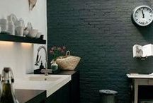 Spaces | Bathroom / Bathroom Style + Material Inspiration