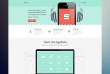 Web design / Desktop web designs / by kropped