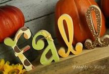 fall/thanksgiving / by Kelsie Merwine