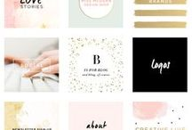 BLOG DESIGN TIPS / Design tips, colour palates and design resources for bloggers