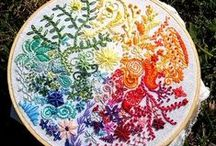 Embroidery / Embroidery work, ideas, and stitches / by Christal Moore