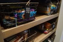 Kitchen & Pantry Home Organization - Kuzak's Closet / Kitchen and Pantry organization, best practices, inspiration, tips and tricks!