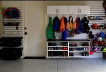 Garage & Bike Storage - Kuzak's Closet / Bike, scooter, paint, toy, garage storage.  Garage solutions and organization.