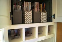 Home Command Center & Pesky Junk Drawer - Kuzak's Closet / command centers for homes/ organization of household paper trails