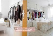 Apartment & Small Living Space Organizing - Kuzak's Closet / by Amanda Kuzak