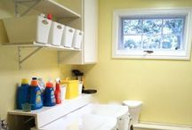 Laundry Room & Household Cleaning Tips - Kuzak's Closet / laundry rooms organized and display ideas