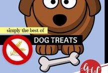 LOVE: Gluten Free Dog Treats / This board contains recipes for gluten-free dog treats, although some recipes are NOT but can be easily adjusted to GF ingredients.