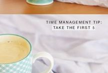 TIME MANAGEMENT TIPS / Time management tips for bloggers