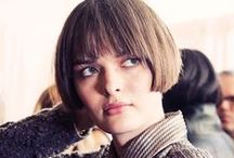 A/W 2014 Haircuts / Hottest haircut looks for fall, including the best BOBS and LOBS and HEAVY FRINGES