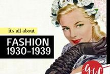 FASHION: 1930-1939 / #fashion from 1930 to 1939