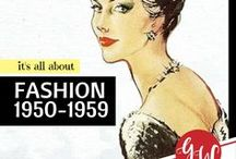 FASHION: 1950-1959 / Fashion from 1950 to 1959