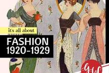 FASHION: 1920-1929 / #gatsby #roaringtwenties #fashion from 1920 to 1929