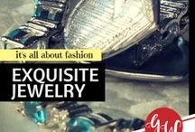 FASHION: Exquisite Jewelry / History board spotlighting exquisite vintage jewelry