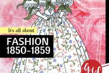 FASHION: 1850-1859 / #fashion from 1850 to 1859