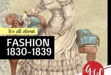 FASHION: 1830-1839 / #fashion from 1830 to 1839