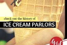 HISTORY: Ice Cream Parlours / Let's learn the history of ice cream parlors and confectionaries!
