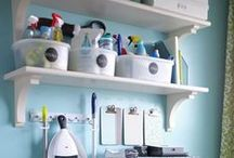 Cleaning Closet / How to organize a cleaning closet/ cupboard.  All supplies in one spot.  When your cleaning closet is organized you won't overbuy product!