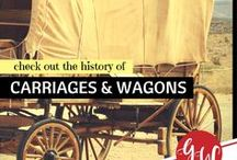HISTORY: Carriages / History of buggies, wagons, carriages, phaetons, carts, and hackeys