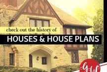 HISTORY: Houses / Let's enjoy the beauty of old houses!
