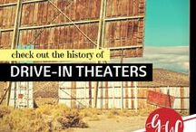 HISTORY: Drive-In Theatre / History of drive-in theaters