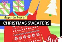 FASHION: Christmas Sweaters / Fabulous and ugly Christmas sweaters for the holiday season!