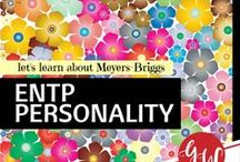 RESEARCH: ENTP personality / Collection board of information about the Meyers-Briggs ENTP personality.