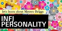 RESEARCH: INFJ personality / Education board of information about the Meyers-Briggs INFJ personality type