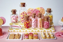Wedding Candy Buffet / by Leanne ǀ Brischetto Photography
