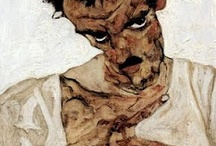 Schiele / by Angie Jones Art