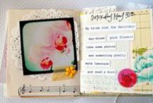 Art Journals & Paper Bags & Pages for Art / These pins are not mine, unless I say so. If not a good website please remember to delete or spam them. Thanks and have fun! / by Judy