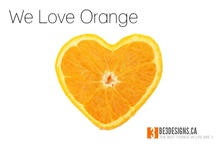 We Heart Orange