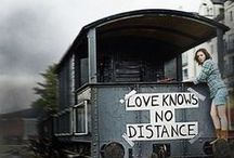 Long Distance Love / When the miles between you don't matter ...  because your love goes the distance. / by Melanie Kissell