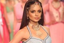 Bollywood celebs walked the ramp / Bollywood celebrities  / by Glamsham
