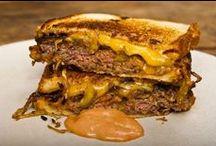((Yummy Sandwiches & Burgers)) / by Jen Hanson
