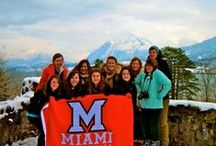 Miamians Around the World / Do you have a photo of yourself representing Miami University in a fun city or place? Pin it and use the hashtag #MiamiOH