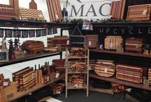 Booth Displays / Several pictures of our booth displays featuring our custom cutting boards.  Enjoy!  http://www.maccuttingboards.com