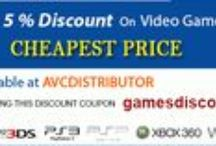 Video Games / Visit avcdistributor.com for latest video games accessories products. Sony, Xbox, PSP, Nintendo, Nintendo Wii U and all major #Videogames brands at our online store. / by AVC Distributor