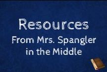 Resources from Mrs. Spangler in the Middle / Middle School Resources that promote Scaffolding in education and save time!