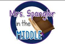 Blog - Mrs. Spangler in the Middle / Middle School Language Arts and Special Education pins from http://mrsspanglerinthemiddle.blogspot.com