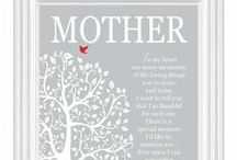 Mother's Day Gifts / Great ideas for Mother's Day gifts.  I love this board!