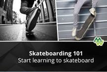 Expert Advice: Skateboarding / The MentorMob Skateboarding community finds the best skateboarding learning content on the web. / by MentorMob