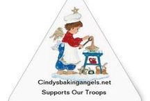 Cindy's Baking Angels Zazzle Products! / Cindy's Baking Angels began 5 years ago with a mission to support our deployed Troops. We are always seeking referrals for Troop Angel Teams as well as Angels to support them. All proceeds go toward our Troops. Sale of our products goes directly to our Troops! For more information, please visit http://cindysbakingangels.net. Thank you!