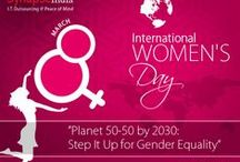 Internal Women's Day 2016 / From the women who have shaped our lives to the women who have revolutionized our world, 8 of March marks the day we recognize women worldwide for their achievements whether socially, economically, or politically.
