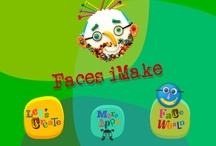 Faces iMake-Right Brain Creativity